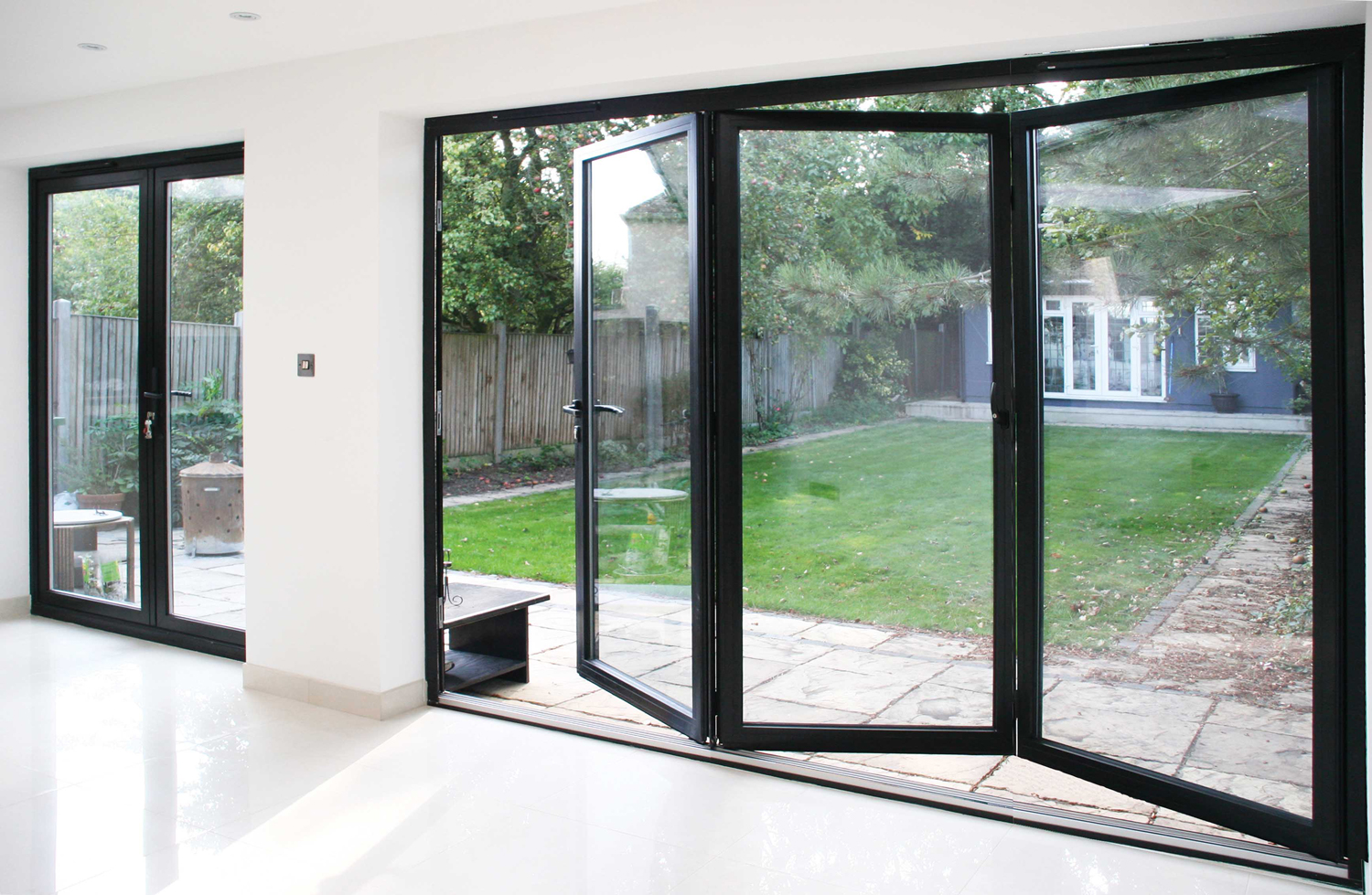 Aluminium Bi Folding Doors Everglade Trade