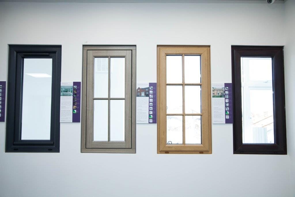 Pvcu Windows With Traditional Style Features 44 Colours