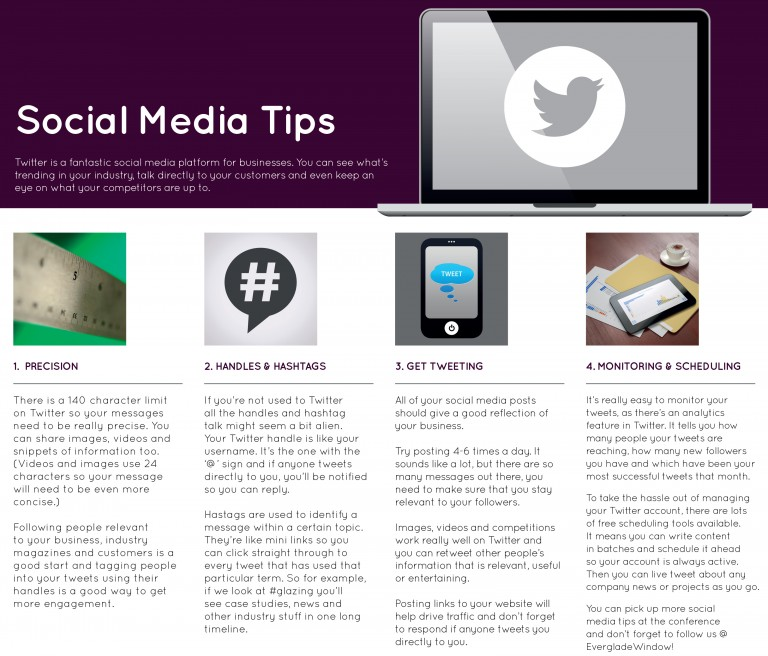 social media tips for window installers