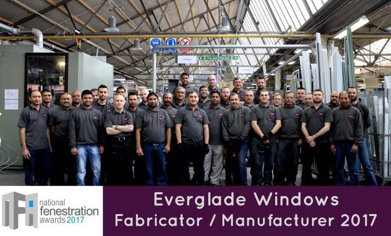Award winning window fabricator Everglade Windows' factory team