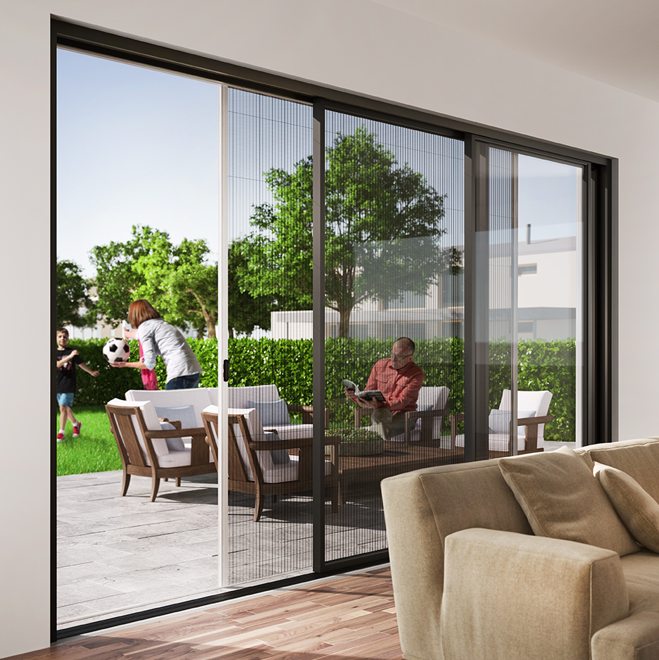 Privacy Screens for Wide-span Doors available from Everglade Windows