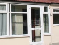 PVCu Single Doors Everglade